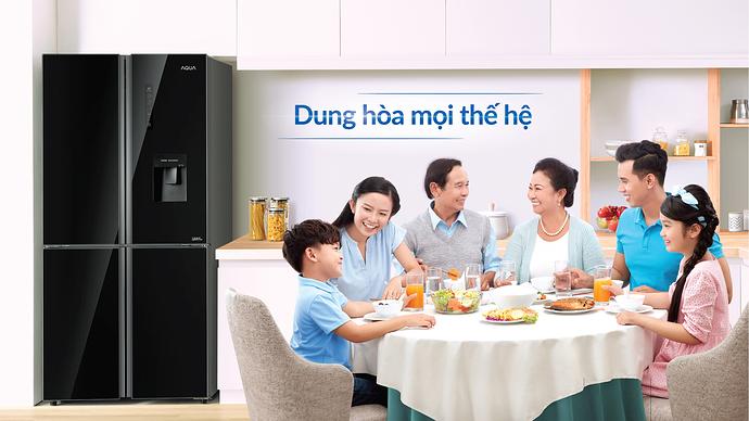 Tủ lạnh AQUA 4 cánh