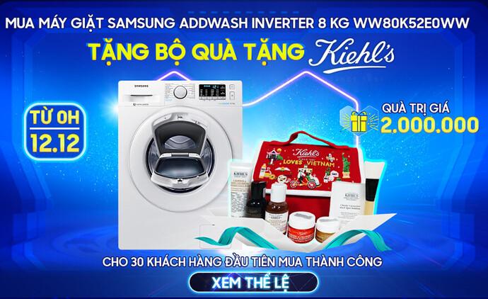 Máy giặt Samsung Lazada 12.12