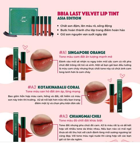 Son kem lì Bbia Last Velvet Lip Tint ASIA EDITION.PNG