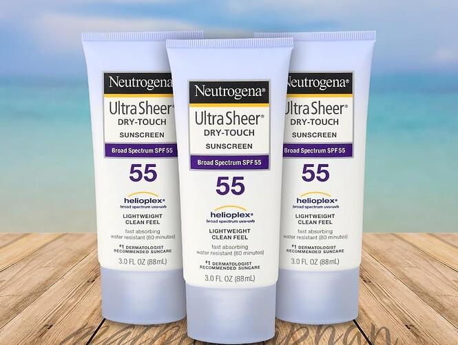 Kem chống nắng Neutrogena Ultra Sheer SPF55