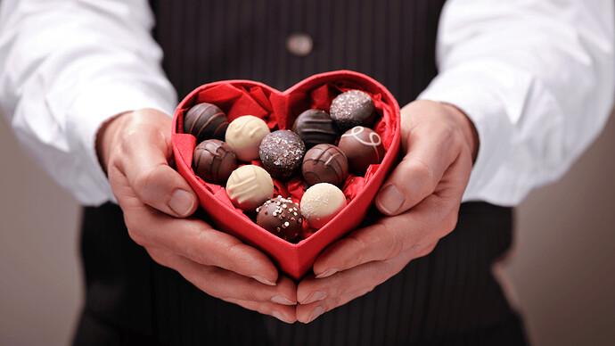 Chocolate món quà ý nghĩa trong ngày Valentine