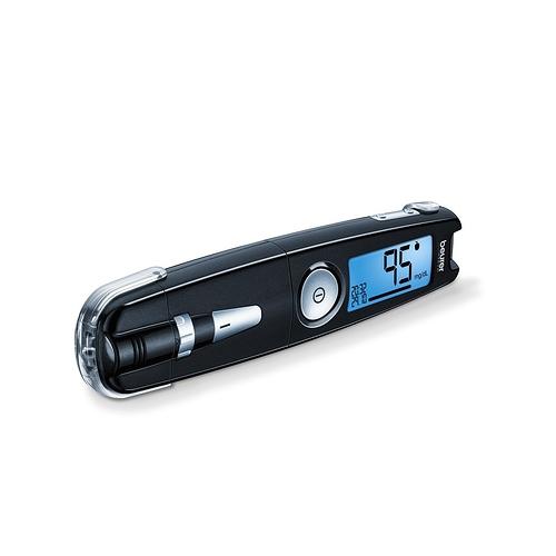 Máy đo đường huyết không cài đặt que thử dạng code
