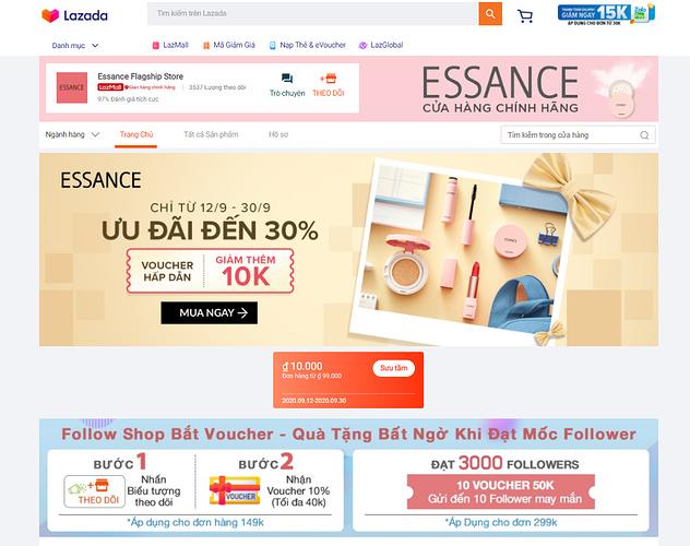 mua my pham essance chinh hang online.PNG
