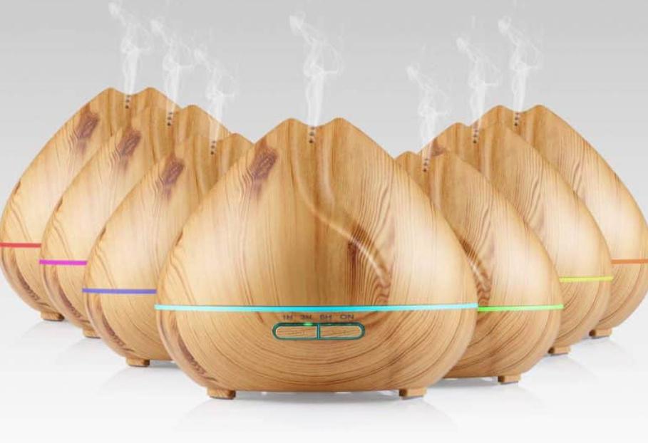 Đèn xông tinh dầu Aroma diffuser