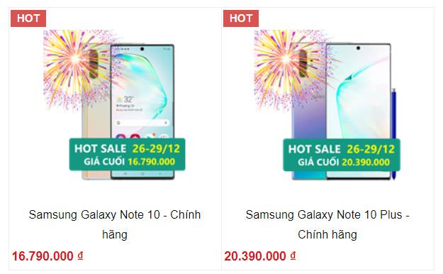 Galaxy Note 10 Series