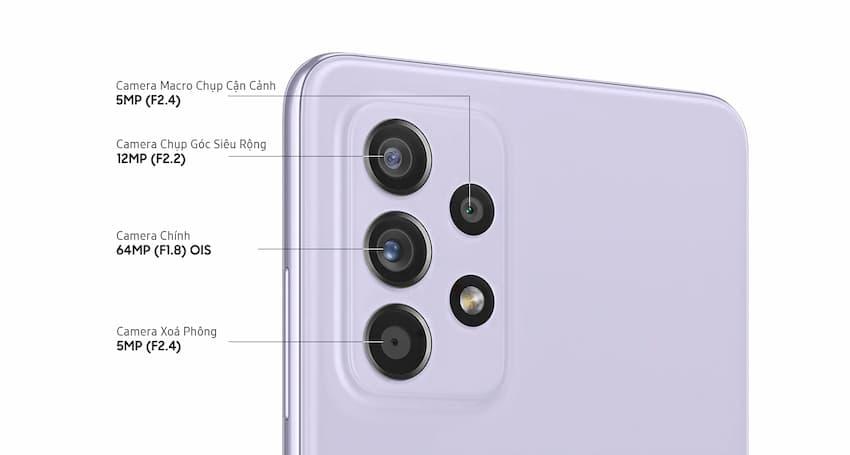 Camera Galaxy A52 (samsung.com)