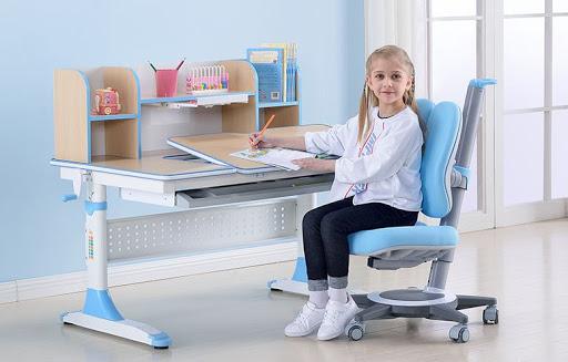 Bộ bàn ghế học sinh thông minh chống gù lưng - chống cận hiện đại 5