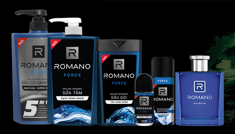 Dầu gội nam Romano