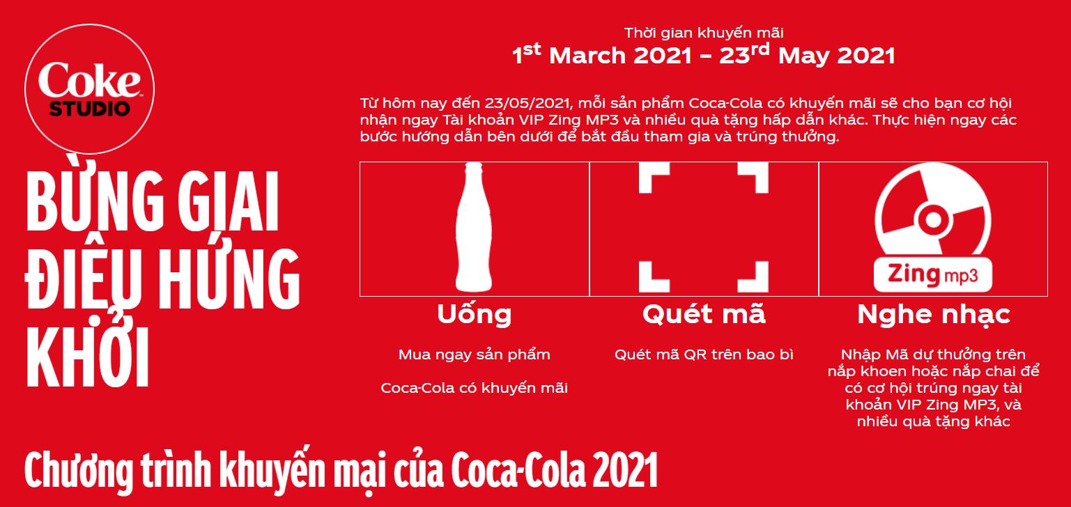 Chương trình khuyến mại của Coca-Cola 202