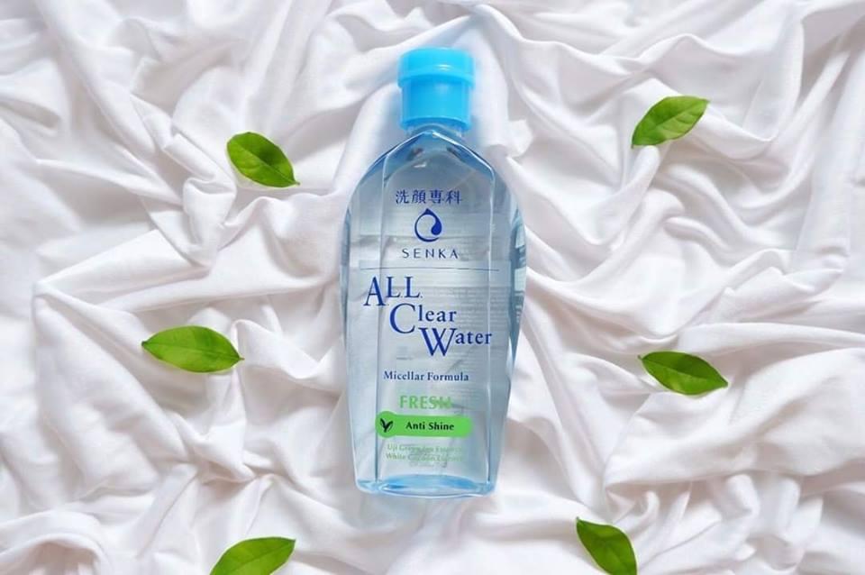 Nước tẩy trang Senka All Clear Water Fresh