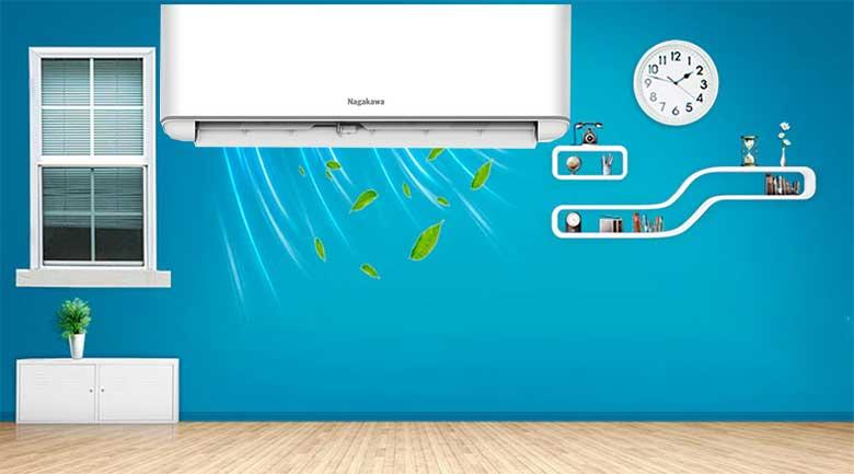 Về thiết kế máy lạnh Nagakawa Inverter NS-C18R2H06
