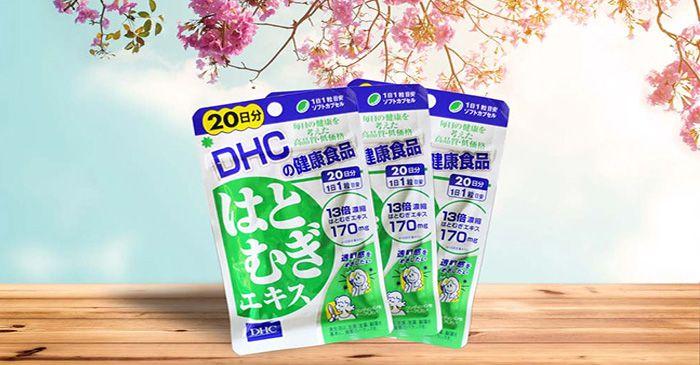 Đánh giá chi tiết viên uống trắng da của Nhật DHC Coix Extract