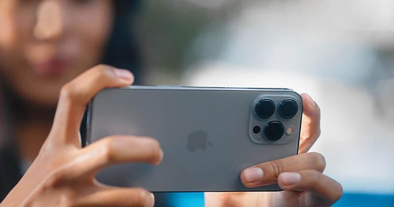 Máy ảnh Iphone 13 pro