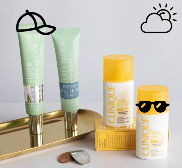 Sản phẩm chống nắng Clinique