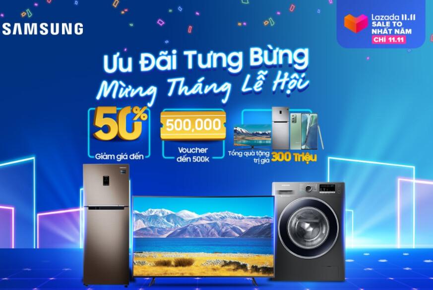 TV Samsung lazada 11.11
