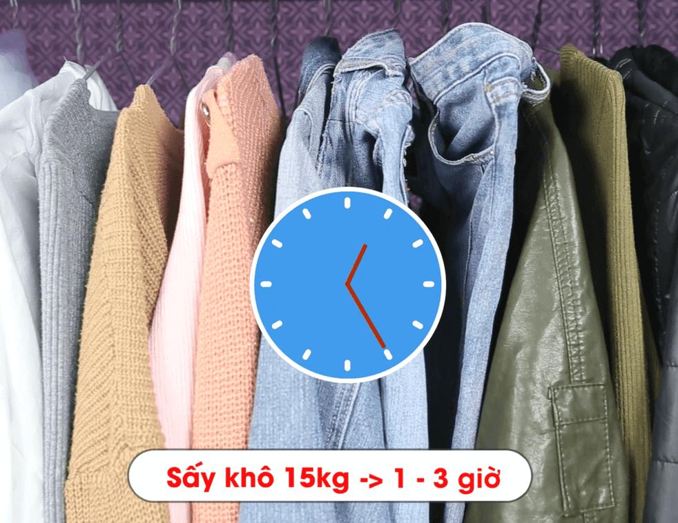 Tủ sấy quần áo chất lượng