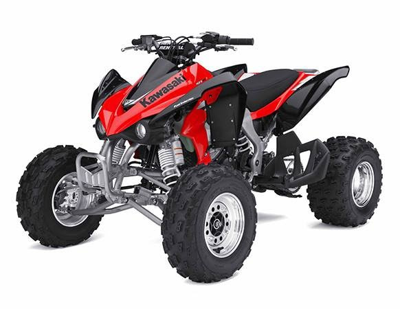 Xe Moto 4 bánh Kawasaki