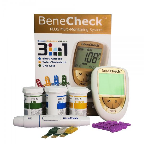 Máy tích hợp đo mỡ máu và đường huyết