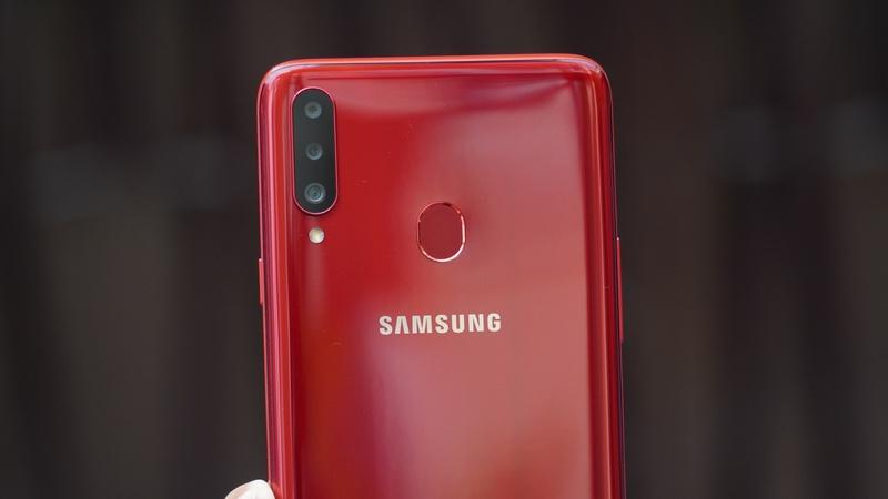 Điện thoại Samsung Galaxy A20S