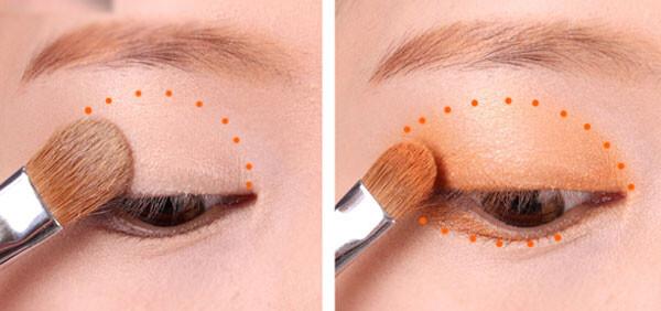 Cách đánh phấn mắt đẹp
