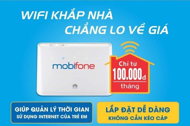 Mobiwifi - WiFi khắp nhà không lo về giá