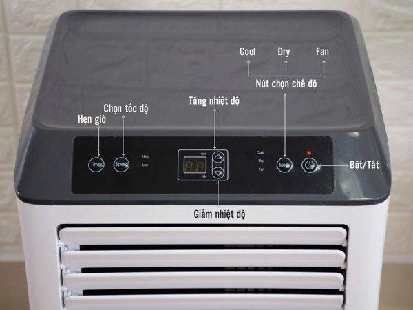 Máy lạnh di động Kachi MK121