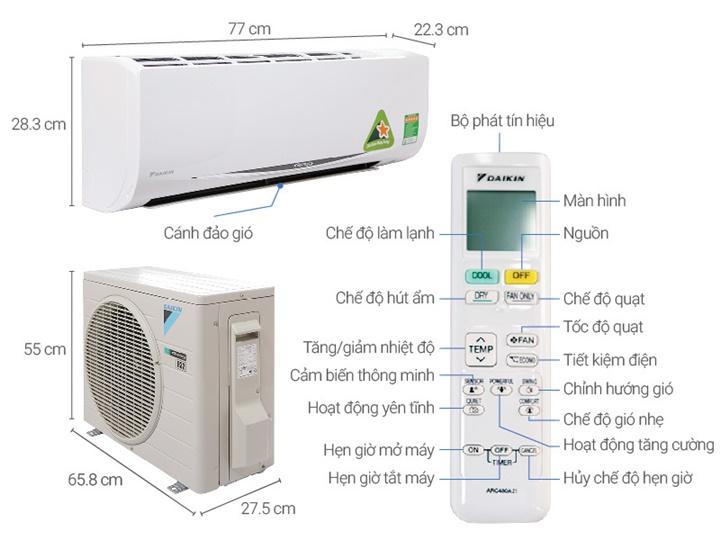 Nhà phân phối máy lạnh Daikin Phú Quốc - 0297 246 33 88
