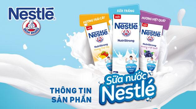 Sữa tiệt trùng Nestle