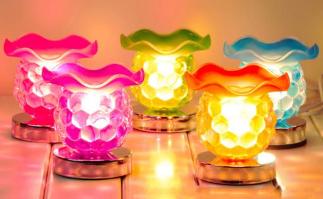 Đèn xông tinh dầu bằng thủy tinh