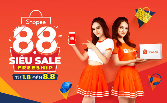 Shopee 8.8